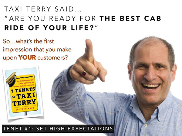 Are you ready for the best cab ride of your life?